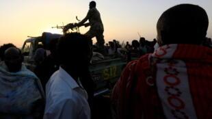 soudan armée soldats militaires tigré