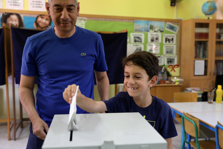 Lors des élections européennes du 26 mai 2019 à Nicosie (image d'illustration).