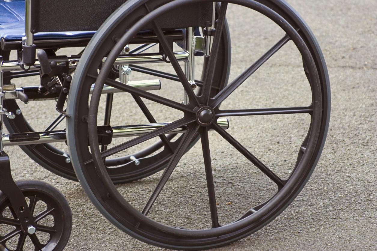 L'accès au materiel pour personnes handicapés se développe au Gabon, mais reste encore limité.