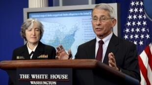 美國國家過敏和傳染病研究所 (NIH)主任福西博士(Anthony Fauci)