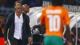 Hervé Renard a réussi à imposer son style à Gervinho et à toutes les stars de cette équipe de Côte d'Ivoire.