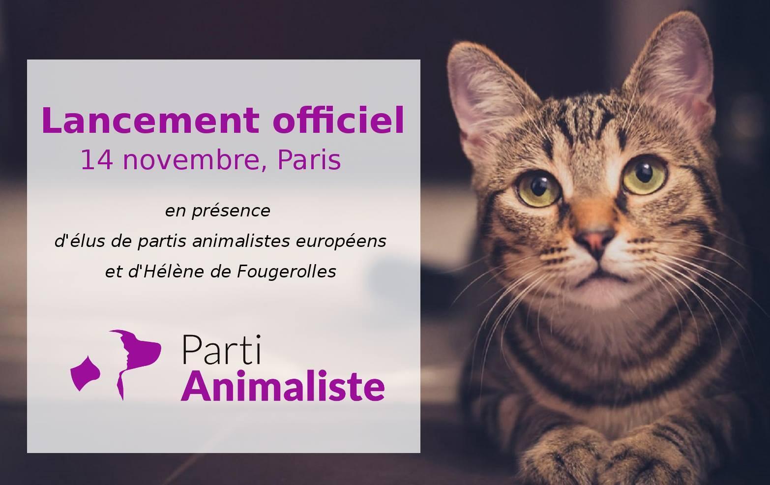 Partido Animalista quer inscrever direito dos animais na Constituição francesa.