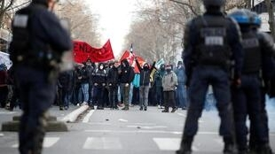 France faces its thirty-eight consecutive day of strikes, Paris, 11 January, 2020.