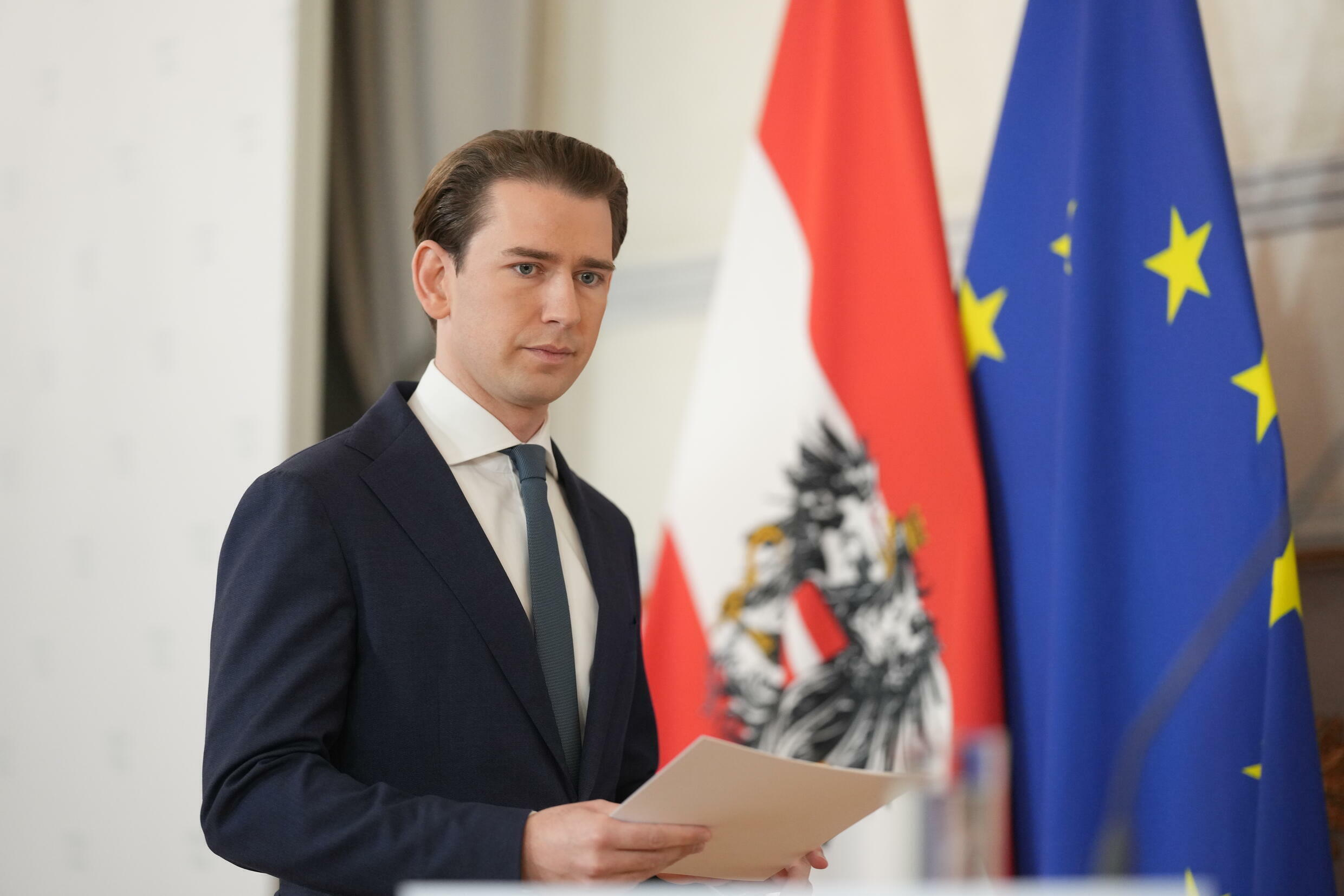 Kurz became the youngest elected leader anywhere in the world in 2017