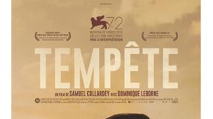 Affiche du film «Tempête» de Samuel Collardey.