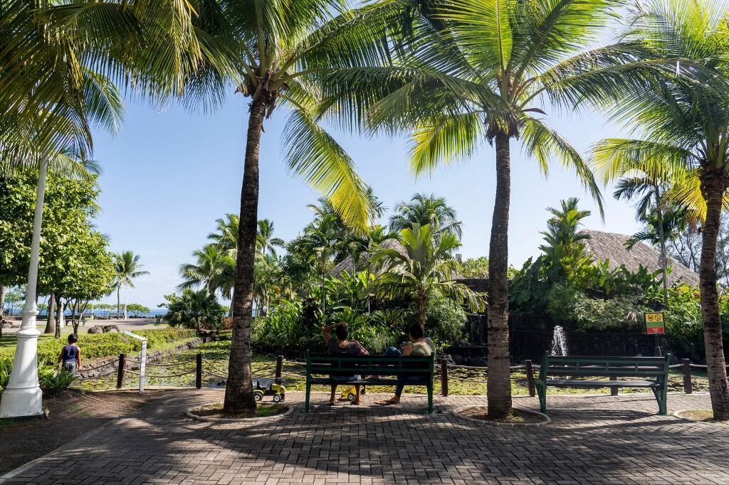 Au printemps, la Polynésie française avait réussi à contenir la pandémie de coronavirus. (illustration) Ici, les Jardins de Paofai, à Papeete le 1er mai 2020.