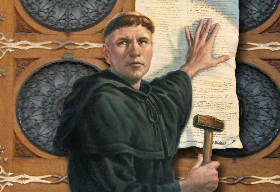 描寫德國宗教改革家馬丁·路德的繪畫
