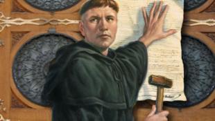 描写德国宗教改革家马丁·路德的绘画