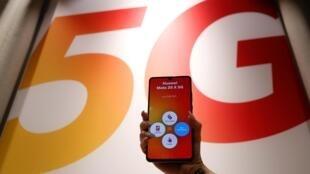 Huawei ne sera pas interdit de 5G en France, mais la durée d'exploitation de ses installations sera limitée à 8 ans (Photo d'illustration).