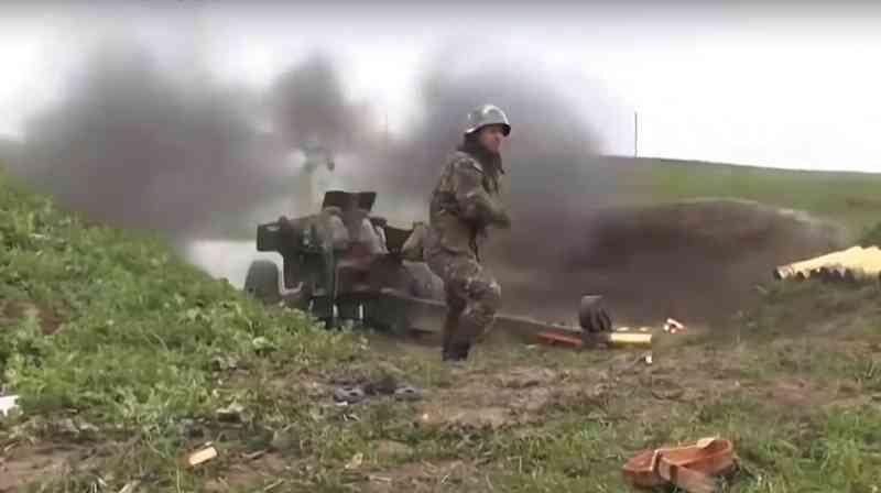نبرد بین نیروهای آذربایجان و ارمنستان در روز شنبه ٣سپتامبر در جبهه ناگورنو قره باغ  شدت گرفت