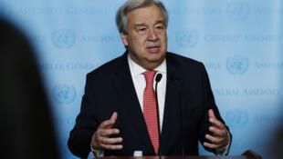 Antonio Guterres: Venezuela precisa encontrar caminhos para o diálogo.