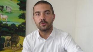 Julien Mette, coach de Djibouti.