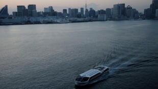 東京灣,4月7日攝