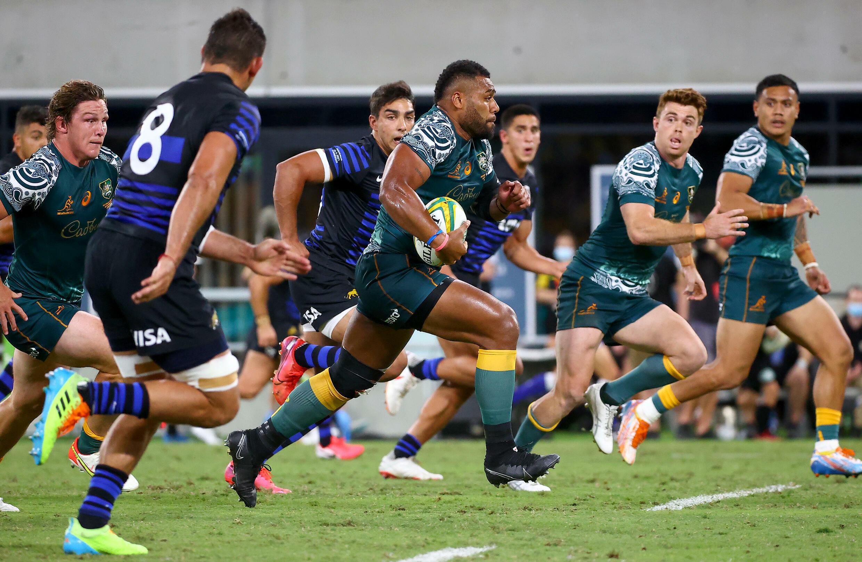 Australia battled past Argentina 27-8