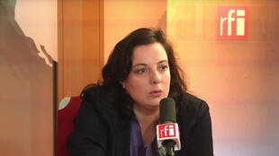 Emmanuelle Cosse, secrétaire nationale d'Europe écologie-les Verts.