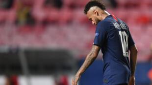 Dan wasan PSG, Neymar.