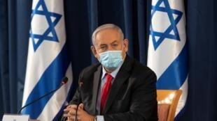Le Premier ministre israélien, Benyamin Netanyahu, le 14 juin 2020.