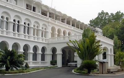 Le palais présidentiel de Koulouba à Bamako.