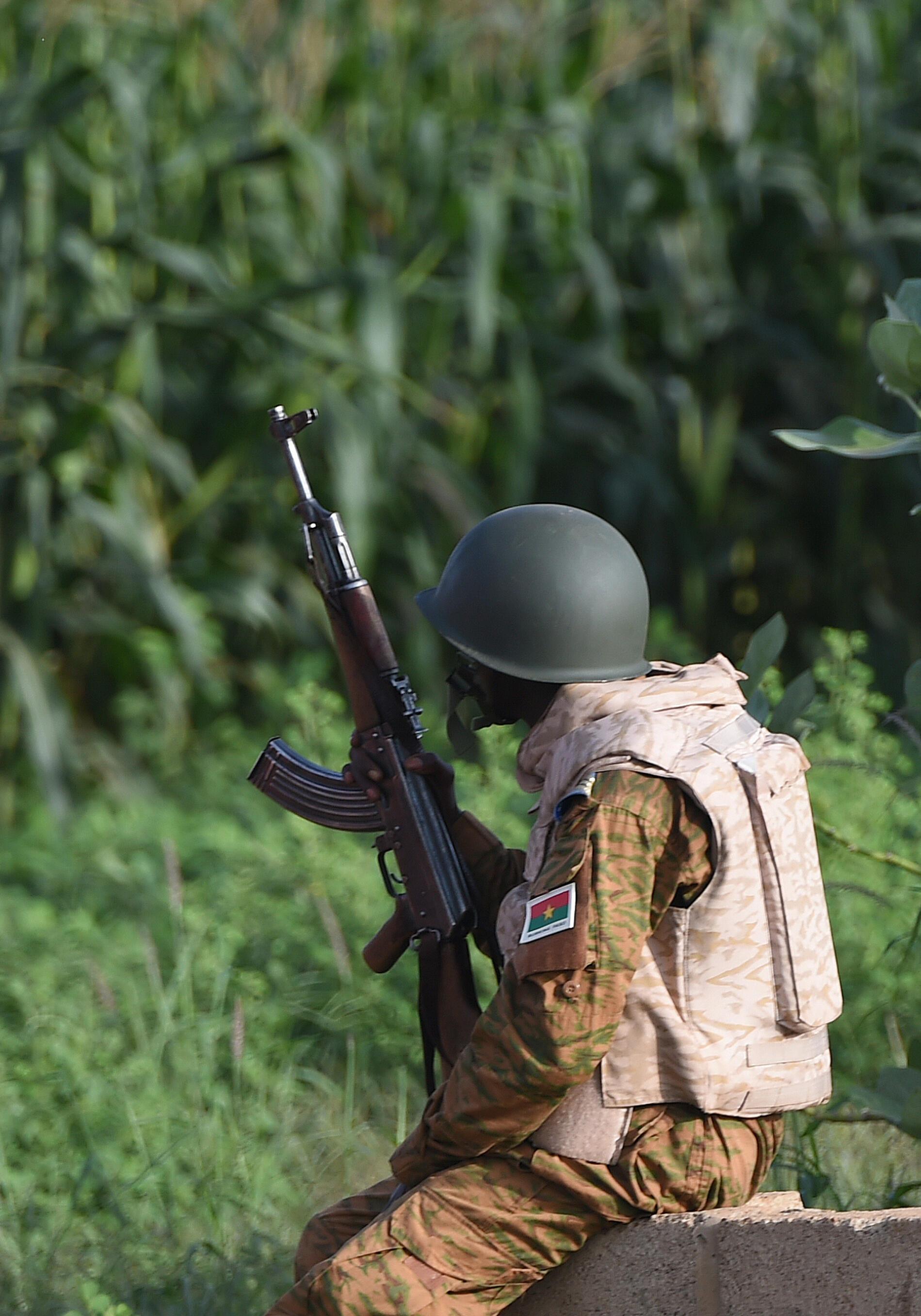 Askari wa Burkina Faso huko Ouagadougou (picha ya kumbukumbu).