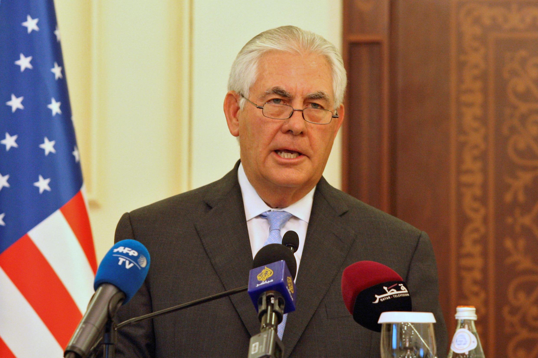 رکس تیلرسون وزیر امور خارجۀ آمریکا