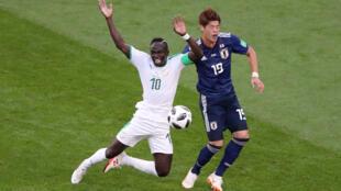 世界杯H组日本对抗塞内加尔:2比2