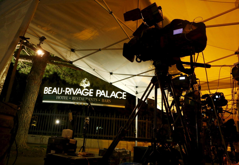 هتل   Beau Rivage Palace  در لوزان سویس، محل برگزاری مذاکرات هستهای ایران