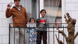 Belgique coronavirus confinement famille enfants Fernando children Enzo Louna
