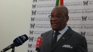 O presidente são-tomense, Evaristo Carvalho. Imagem de arquivo.