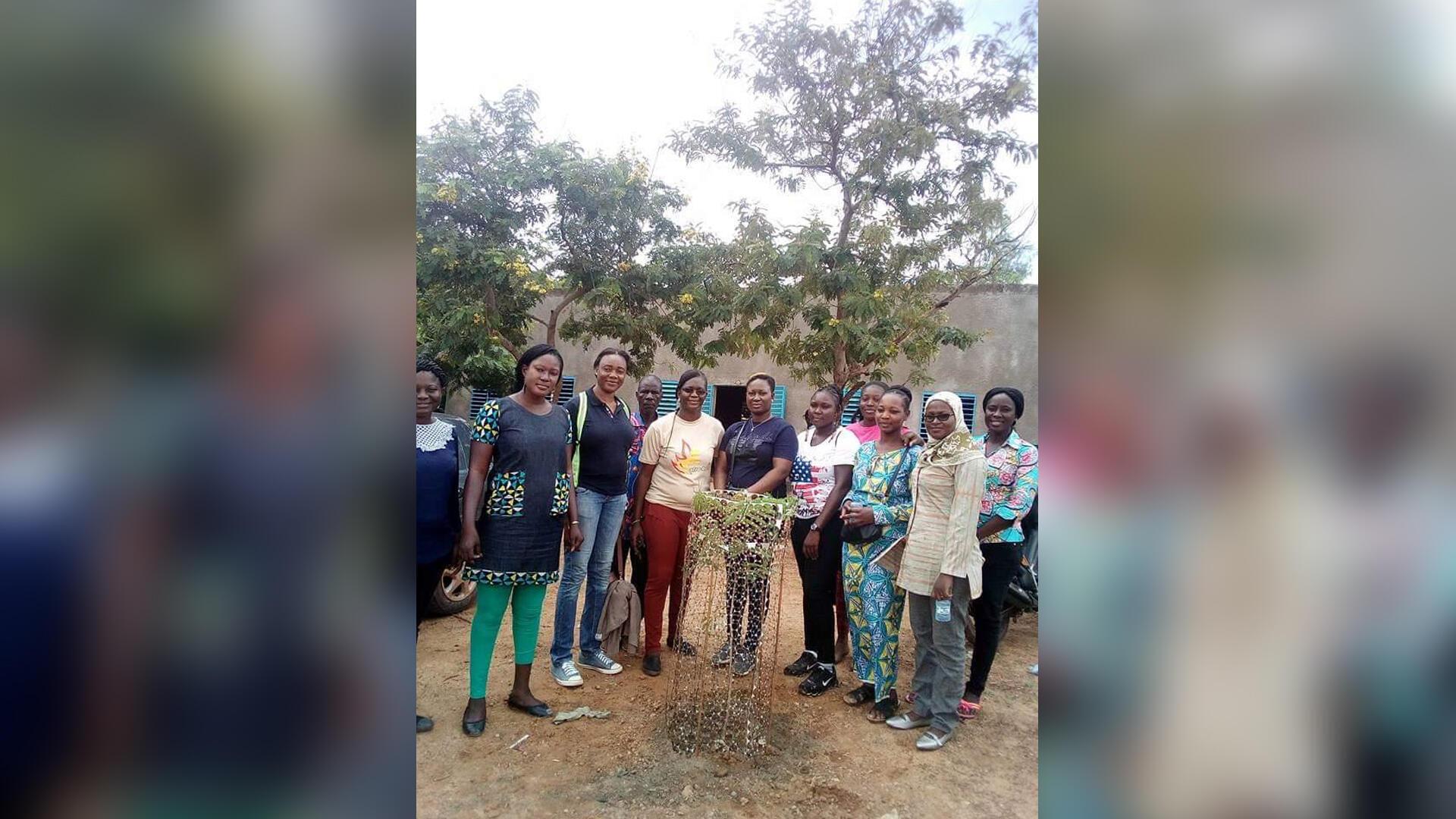 Association des femmes environnementaliste, au Burkina Faso.
