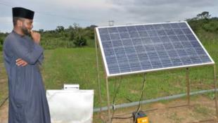 Na'urar Solar kenan guda cikin kere-keren da Injiniya Faisal Sani Bala Tanko ya samar a Najeriya.