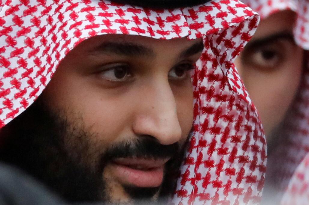 Le prince héritier saoudien Mohammed ben Salman au sommet des dirigeants du G20 à Osaka, au Japon, le 27 juin 2019.