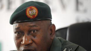 Le général Chris Olukolade, porte-parole du ministère de la Défense nigérian.