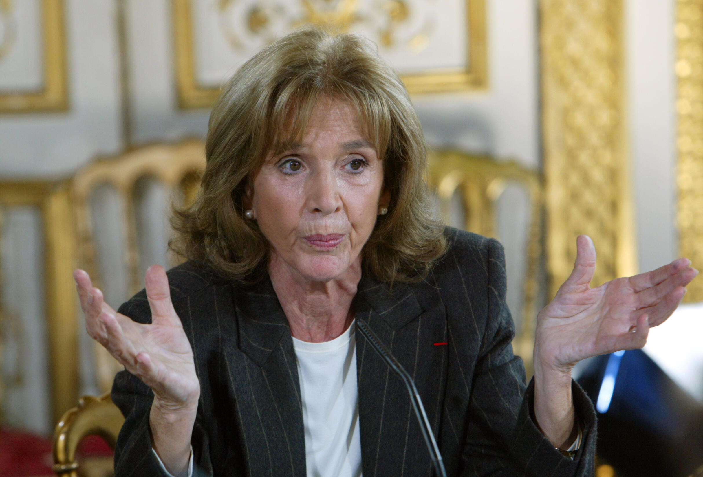 Gisèle Halimi en novembre 2003 à Paris