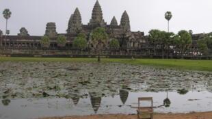 Les temples d'Angkor, au Cambodge.