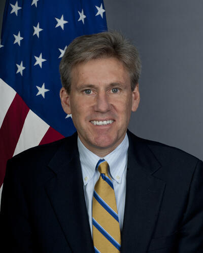 J. Christopher Stevens, embajador de Estados Unidos en Libia, asesinado el 11 de septiembre de 2012.