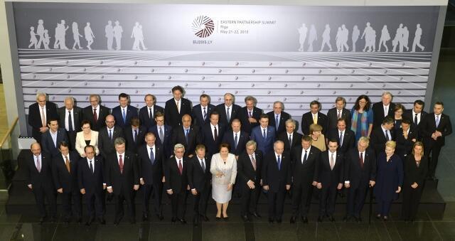 """Саммит """"Восточного партнерства"""" в Риге, 22 мая 2015 год"""
