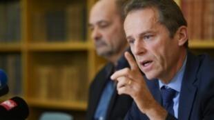Besancon prosecutor Etienne Manteaux