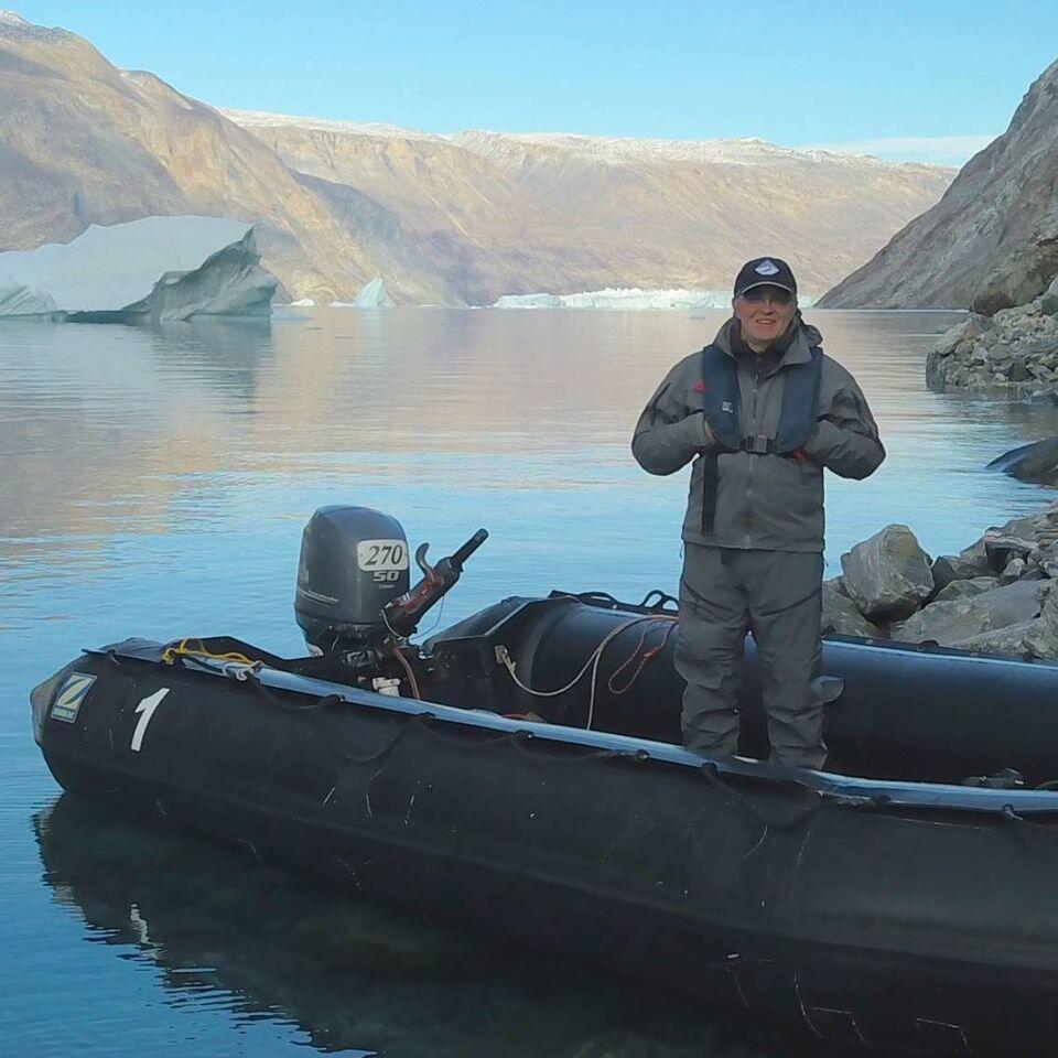 O geógrafo e documentarista francês Rémy Marion frequenta o Ártico há mais de 30 anos.