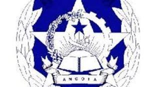 Emblema da polícia nacional angolana