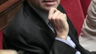 Le secrétaire général de l'UMP, Jean-François Copé, à l'Assemblée nationale en mars 2011.