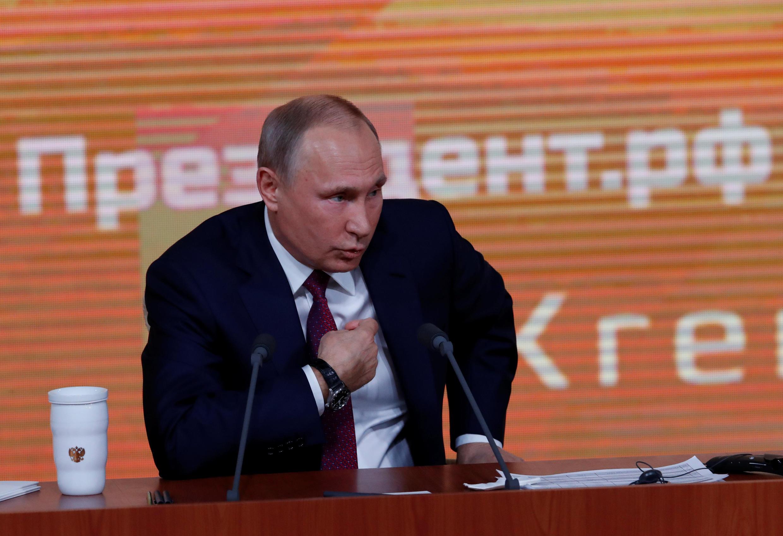 Vladimir Poutine  Shugaban kasar Rasha