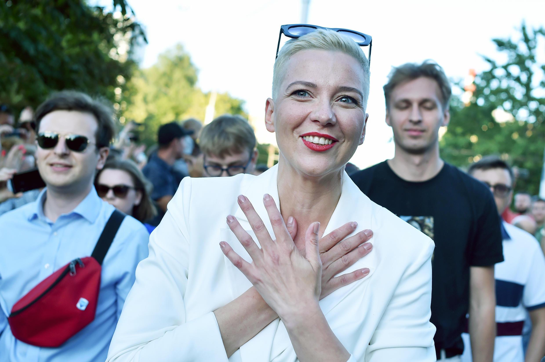 Maria Kolesnikova has not been seen since Monday