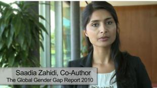 Saadia Zahidi, director and head of constituents, World Economic Forum