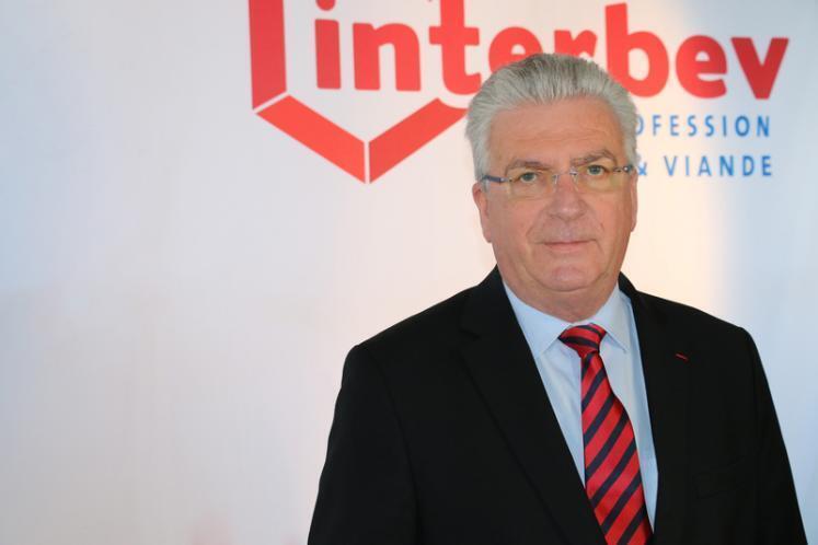 Dominique Langlois, presidente da Interbev (Associação Nacional Interprofissional do Gado e das Carnes da França)