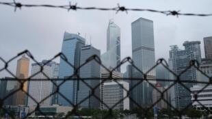 Une vue générale de Hong Kong le 28 mai 2020.