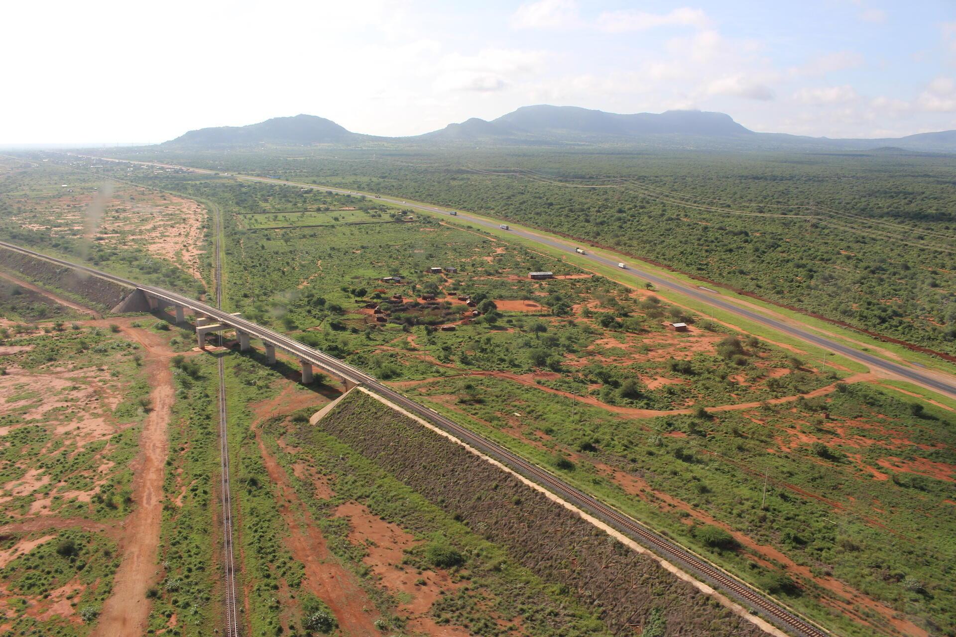 Bridges allow wildlife to pass beneath them_Kenya_Credit Ewan Brennan