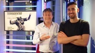 Daniel Otero Torres y Jordi Batallé en RFI