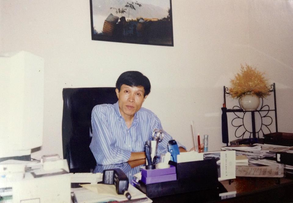 Ông Nguyễn Hữu Vinh tức blogger Anh Ba Sàm.