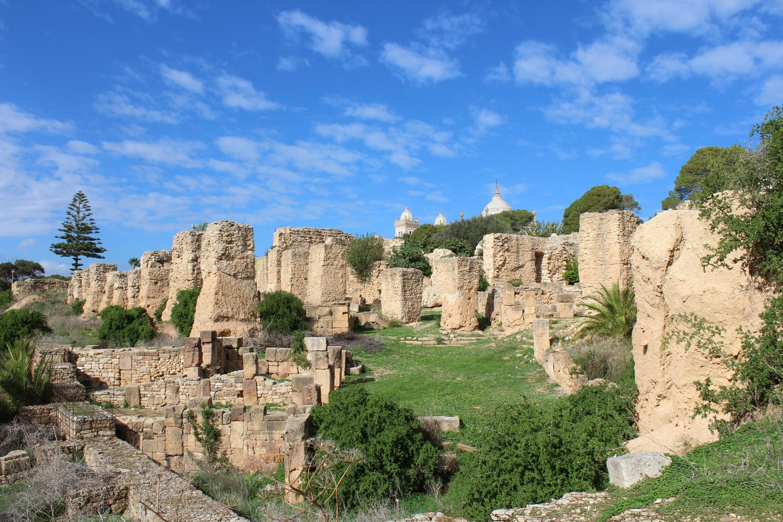 Le site archéologique de Carthage, en Tunisie.