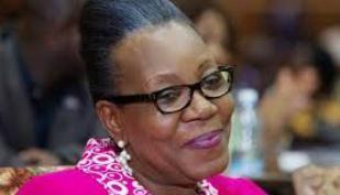 Catherine Samba-Panza, presidente interina da República Centro-Africana